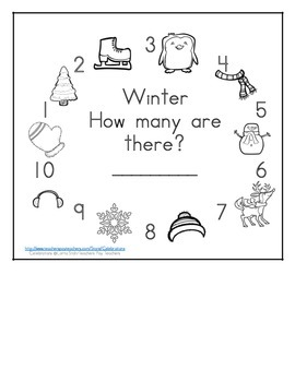 Winter Math Counting Books