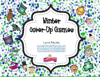 Winter Math Cover-Up Games