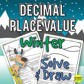 Winter Math Decimal Place Value