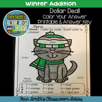 Winter Math - Dollar Deal
