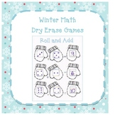 Winter Math Dry Erase Games