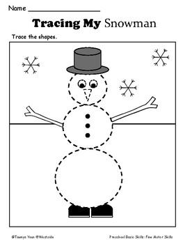 Winter Math FREEBIE (Kindergarten)