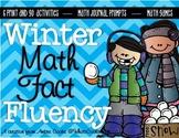 Winter Math Fact Fluency Packet