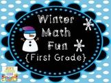 Winter Math Fun {First Grade}