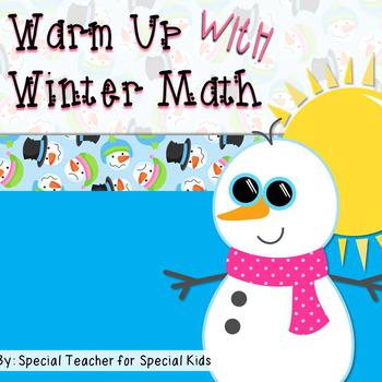 Winter Math Fun {Freebie}