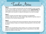 Winter Math Fun - Measurement Worksheet Pack