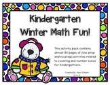 Winter Math Fun for Kindergartners