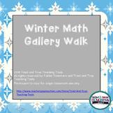 Winter Math Gallery Walk
