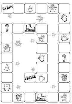 Winter / Christmas Math Game