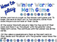 Winter Math Game {3 Games in 1}