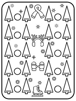 Winter Math Game Comparing Numbers Winter Dice Game Christmas Math Centers 2nd