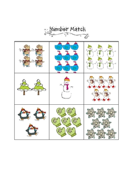 Winter Math Game Pack