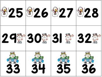 Winter Math Games