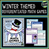 Differentiated Winter Math Games