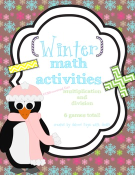 Winter Math Games: Multiplication and Division