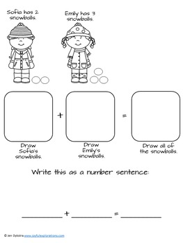 Winter Math Games and Activities for P-K