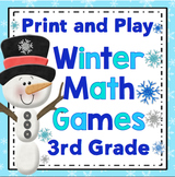 Winter Math Games - 3rd Grade