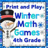 Winter Math Games - 4th Grade