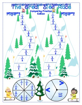 Winter Math Games - 4th Grade
