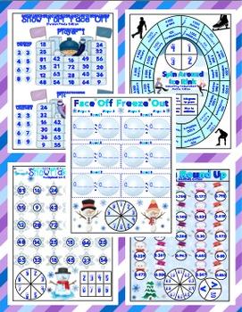 Winter Math Games - 5th Grade