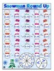 Winter Math Games and Centers Freebie Sampler: Print and Play, No Prep Games