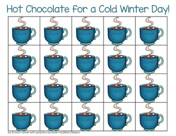 Winter Math Grid Games