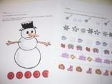 Winter Math Handouts and Center activities