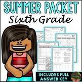 Sixth Grade Summer Packet (Summer Review, Homework and Summer School)