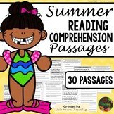 Reading Comprehension: Summer Reading Comprehension Passages & Questions
