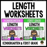 Kindergarten Measurement Worksheets & First Grade Measurement Worksheets Bundle