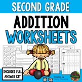 Second Grade Addition Worksheets (Second Grade Math Series)