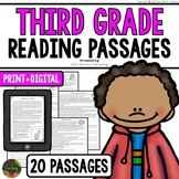 Reading Comprehension Passages and Questions (Third Grade)