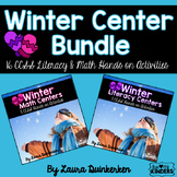Winter Math & Literacy Center Bundle