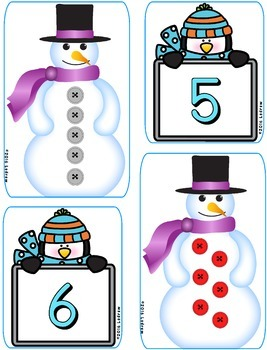 Winter Centers Activities Math Literacy Emergent Reader Beginning Sound Counting