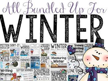 Winter Mega Bundle: Everything You Need All Bundled Up!!