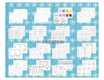 Winter Math & Literacy Printables Packet
