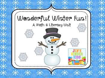 Winter Math & Literacy Unit~ HUGE!!
