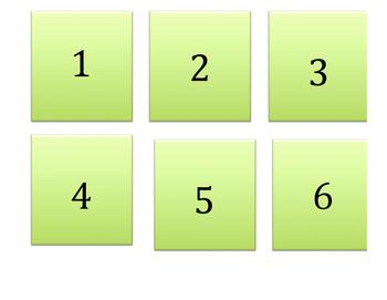 Winter Math Match Game
