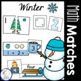 Winter Math Centers: Numbers 1-20