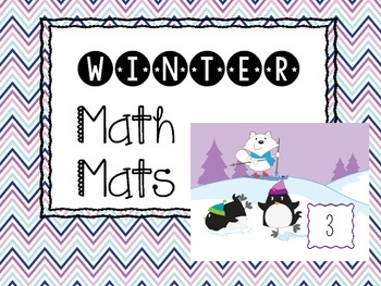 Winter Math Mats