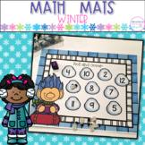 Winter Math Mats
