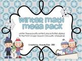 Winter Math Mega Pack (Winter Themed Math Centers for First Grade)