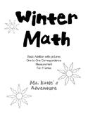Winter Math Morning Work No Prep