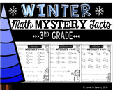 Winter Math Mystery Facts **3rd Grade**