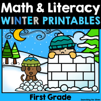 Winter Math and Literacy No-Prep {1st Grade}