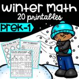 Winter Math No Prep Printables
