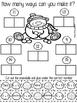 January Math Activities-No Prep number sense