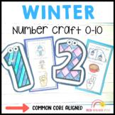 Winter Math Number Craft Activities