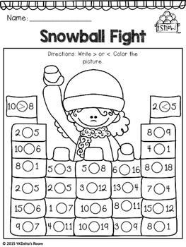 Winter Math {Number Sense}