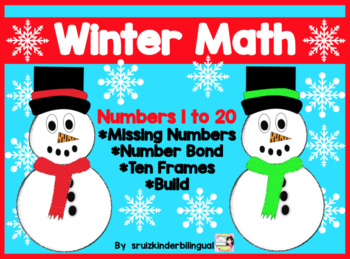 Winter Math ~Numbers 1 to 20~